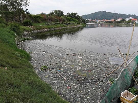 Hiện tượng lạ đang xảy ra ở hồ nước lớn nhất Vũng Tàu - Ảnh 4.