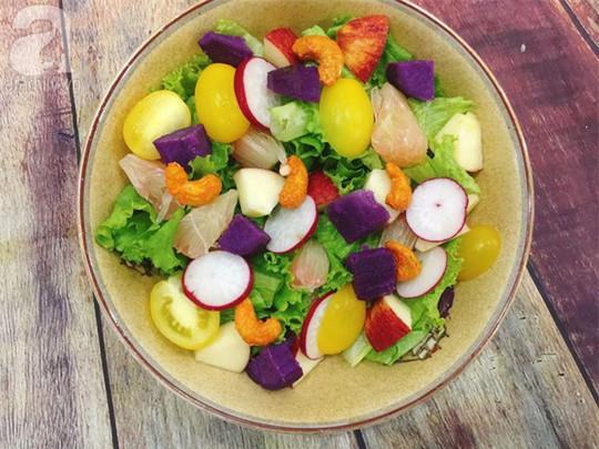 Làm đẹp đón Tết với 3 món salad ngon thần thánh - Ảnh 3.