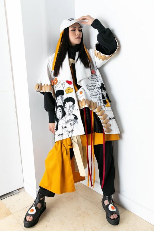 Hoa hậu Trái đất 2018 Phương Khánh lần đầu diễn thời trang - Ảnh 4.