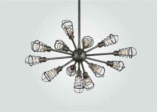 Trang trí đèn chùm trong ngôi nhà hiện đại - Ảnh 10.