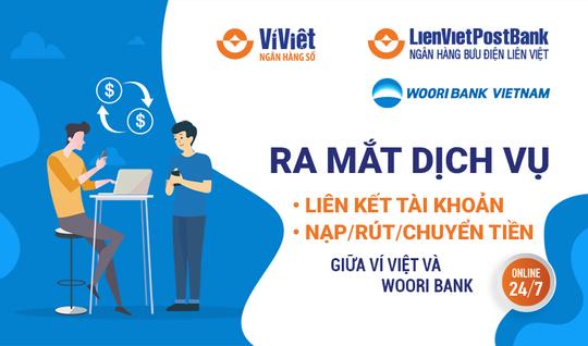 LienVietPostBank hợp tác cùng Woori Bank Việt Nam cung cấp nhiều dịch vụ trên Ví Việt - Ảnh 1.