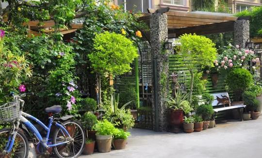 Tuổi 40, sống an yên trong căn nhà vườn xinh xắn - Ảnh 2.