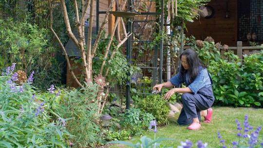 Tuổi 40, sống an yên trong căn nhà vườn xinh xắn - Ảnh 13.