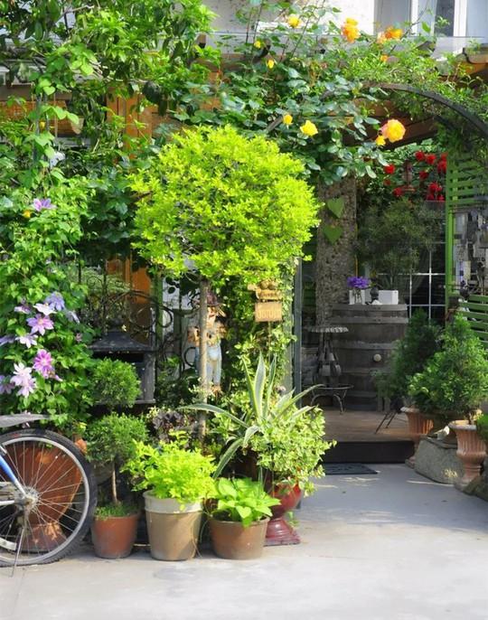 Tuổi 40, sống an yên trong căn nhà vườn xinh xắn - Ảnh 4.