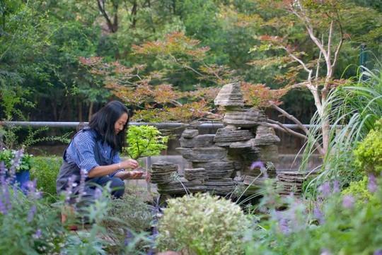 Tuổi 40, sống an yên trong căn nhà vườn xinh xắn - Ảnh 10.