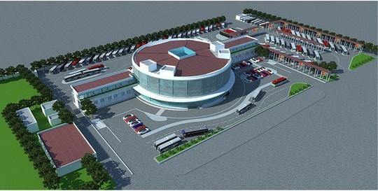 Hà Nội quyết xây bến xe hiện đại nhất cả nước dù Bộ GTVT phản đối - Ảnh 1.