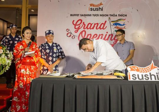 Khai trương iSushi Cao Thắng – buffet Sashimi thỏa thích - Ảnh 6.