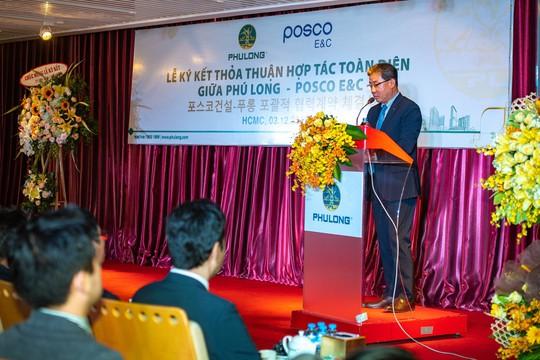 Ký kết thỏa thuận hợp tác toàn diện giữa Công ty Phú Long và Posco - Ảnh 2.