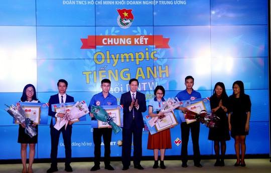 PV GAS đạt giải tại Cuộc thi Olympic Tiếng Anh Khối Doanh nghiệp Trung ương năm 2018 - Ảnh 3.