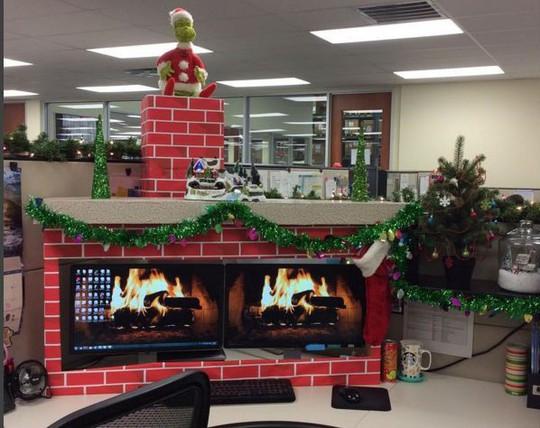 Gợi ý trang trí Noel cho văn phòng công ty đẹp và ấn tượng nhất - Ảnh 11.