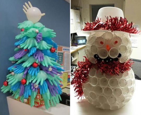 Gợi ý trang trí Noel cho văn phòng công ty đẹp và ấn tượng nhất - Ảnh 3.