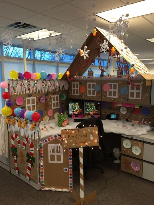 Gợi ý trang trí Noel cho văn phòng công ty đẹp và ấn tượng nhất - Ảnh 8.