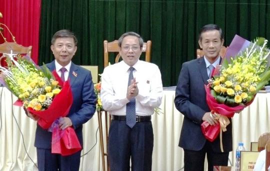 Phó bí thư Tỉnh ủy Quảng Bình được bầu làm chủ tịch UBND tỉnh - Ảnh 1.