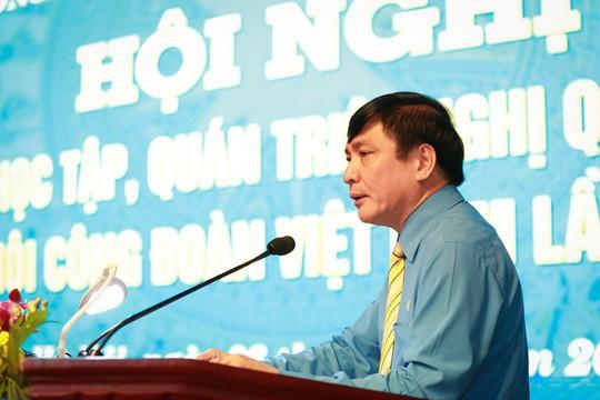 Hội nghị trực tuyến toàn quốc học tập, quán triệt Nghị quyết Đại hội XII Công đoàn Việt Nam - Ảnh 1.