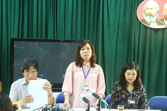 Hiệu trưởng trả lời vòng vo câu hỏi cô giáo chỉ đạo tát học sinh là con lãnh đạo quận - Ảnh 2.