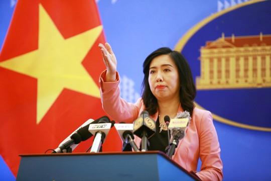 Người phát ngôn trả lời câu hỏi về khả năng tổ chức thượng đỉnh Mỹ-Triều tại Việt Nam - Ảnh 1.