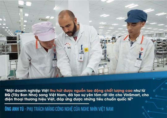 Chuyên gia công nghệ ấn tượng về điện thoại Vsmart - Ảnh 4.