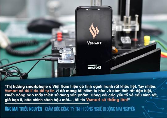 Chuyên gia công nghệ ấn tượng về điện thoại Vsmart - Ảnh 6.