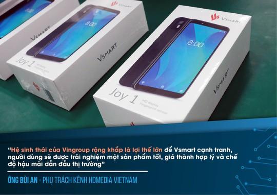 Chuyên gia công nghệ ấn tượng về điện thoại Vsmart - Ảnh 7.