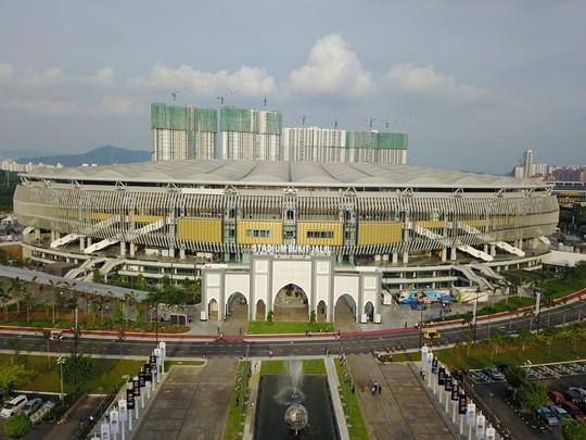 Vẻ đẹp sân vận động Bukit Jalil - nơi diễn ra trận chung kết AFF Cup - Ảnh 1.
