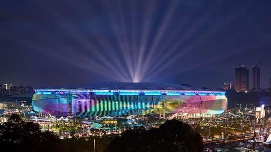 Vẻ đẹp sân vận động Bukit Jalil - nơi diễn ra trận chung kết AFF Cup - Ảnh 2.