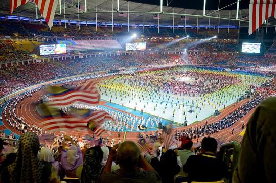 Vẻ đẹp sân vận động Bukit Jalil - nơi diễn ra trận chung kết AFF Cup - Ảnh 5.