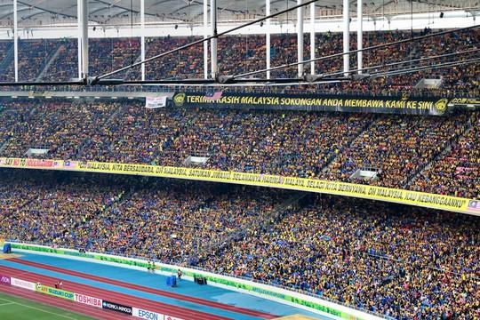 Vẻ đẹp sân vận động Bukit Jalil - nơi diễn ra trận chung kết AFF Cup - Ảnh 7.