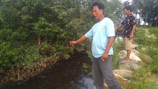 """Lãnh đạo huyện Phú Quốc lên tiếng việc dân """"tố"""" nhà máy rác xả nước thải ra biển - Ảnh 1."""