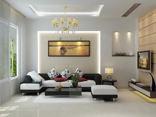 Thiết kế phòng khách đơn giản mà đẹp cho năm 2018 - Ảnh 1.