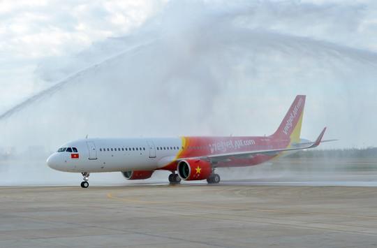 Vietjet nhận máy bay A321neo thế hệ mới đầu tiên tại khu vực Đông Nam Á - Ảnh 1.