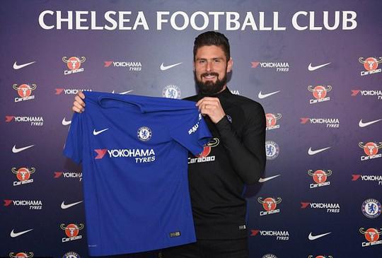 Giroud sang Chelsea, Aubameyang cập bến Arsenal - Ảnh 3.