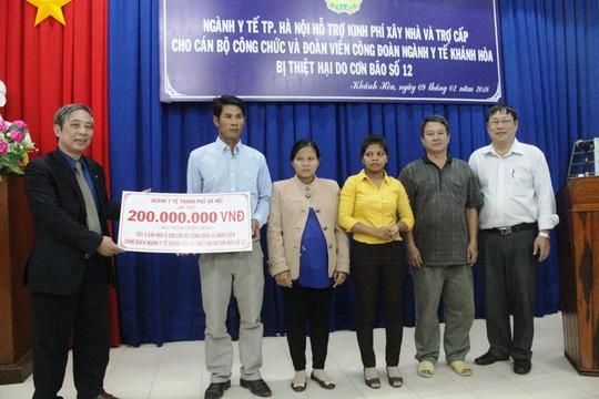 Hơn 500 suất quà Tết cho đoàn viên Công đoàn ngành y tế - Ảnh 3.