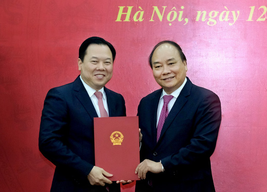 Thủ tướng trao quyết định bổ nhiệm Chủ tịch Ủy ban Quản lý vốn Nhà nước tại DN - Ảnh 1.