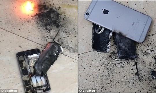 iPhone phát nổ như bom tại hiệu làm tóc giữa Hà Nội - Ảnh 2.