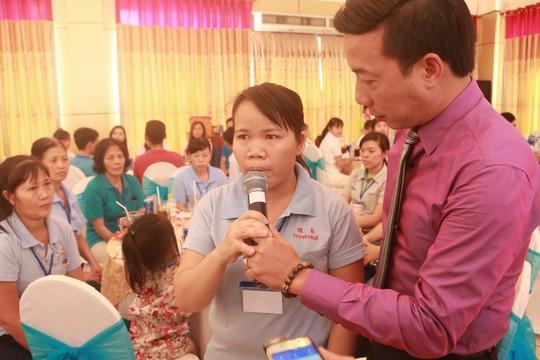 Lãnh đạo TP HCM vui Tết cùng công nhân - Ảnh 2.
