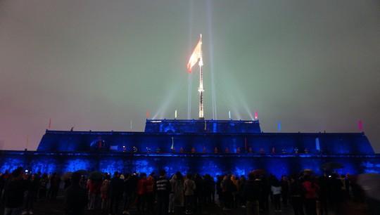 Chiêm ngưỡng hệ thống chiếu sáng Kỳ Đài và bắn thử nghiệm súng thần công - Ảnh 7.