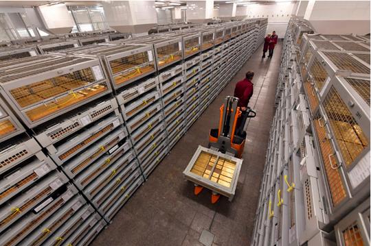 Choáng ngợp kho vàng 1.800 tấn của Nga - Ảnh 2.