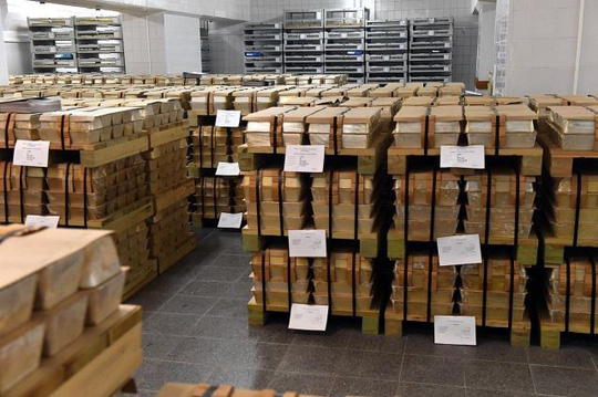 Choáng ngợp kho vàng 1.800 tấn của Nga - Ảnh 7.