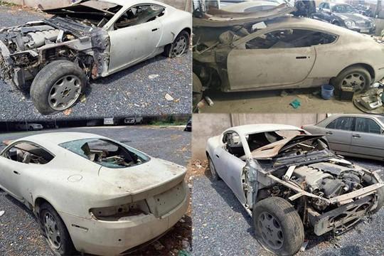 Siêu xe Aston Martin tiền tỷ vứt không ai nhặt tại Việt Nam - Ảnh 9.