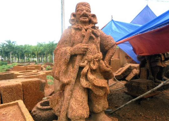 Đại gia xứ Đoài: 'Biệt phủ' đá ong gỗ mít bậc nhất đất Việt - ảnh 5