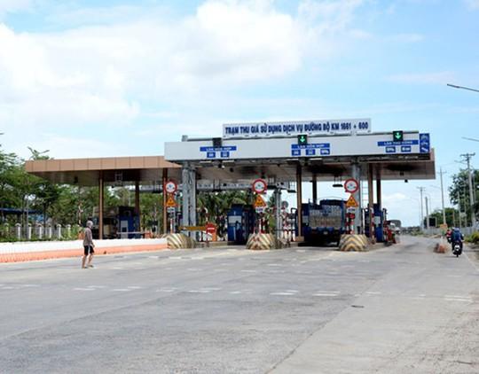 Trạm BOT Sông Lũy, tỉnh Bình Thuận không thu phí 2 ngày - Ảnh 1.