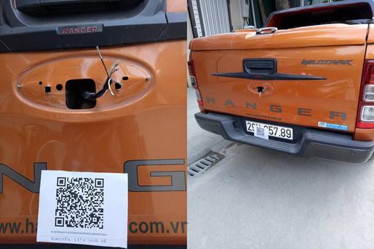 Trộm phụ tùng xe hơi, đòi chuộc bằng tiền ảo tại Việt Nam - Ảnh 1.