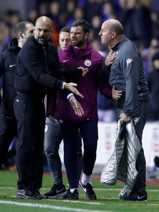 Bàn thua muộn khiến Man City bị loại khỏi FA Cup - Ảnh 7.