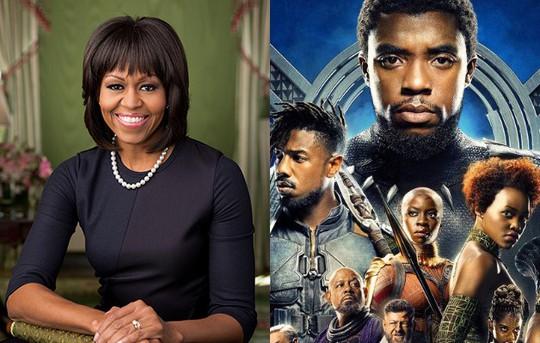 Bà Michelle Obama yêu phim Chiến binh báo đen - Ảnh 1.