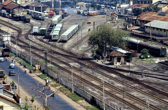 Ảnh cực hiếm nhà ga Sài Gòn xưa - Ảnh 8.