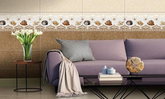 Những mẫu gạch ốp tường nhà đẹp không thể rời mắt - Ảnh 1.