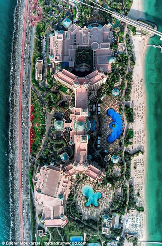 Kiến trúc đẹp mê hồn của thành phố Dubai từ trên cao - Ảnh 11.