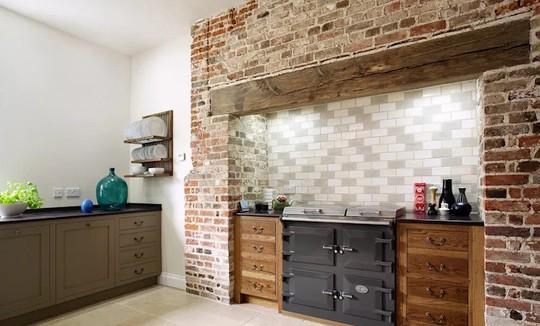 Những mẫu gạch ốp tường nhà đẹp không thể rời mắt - Ảnh 4.