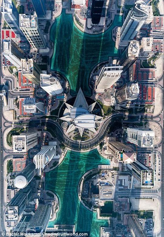 Kiến trúc đẹp mê hồn của thành phố Dubai từ trên cao - Ảnh 7.