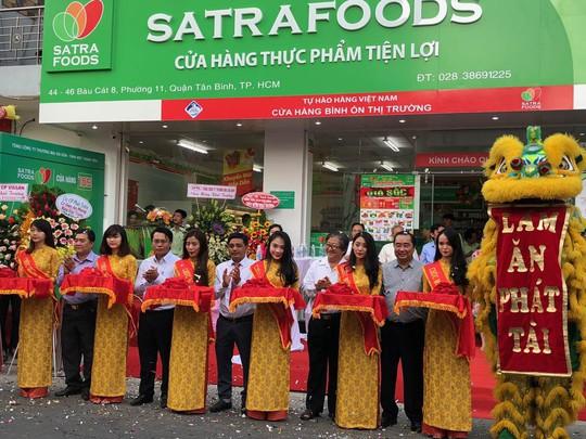 Tưng bừng khai trương cửa hàng Satrafoods thứ 165 - Ảnh 1.